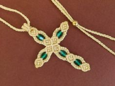 Cross/Macrame Cross by MACRANI on Etsy