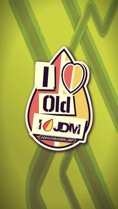 old shool, jdm, car, sticker