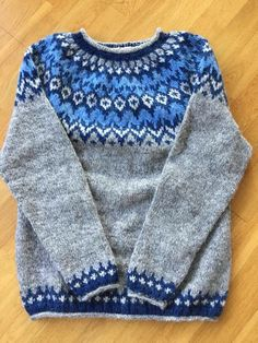 Fair Isle Pattern, Anchors, Knit Crochet, Cool Outfits, Wool, Knitting, Sweaters, Crafts, Clothes