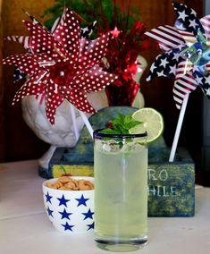 Easy Homemade Limeade - summer entertaining ideas | CeceliasGoodStuff.com | Good Food for Good People