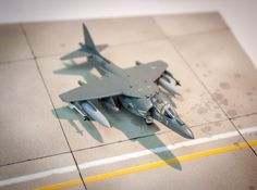 McDonnell Douglas AV-8B Harrier II Plus, VMA-231, US Marines, MCAS Cherry Point, North Carolina, USA,1999, Revell, 1/144