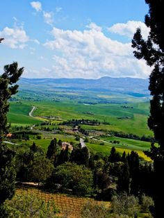 Pienza...we will be staying on an 18th century farm here!!! SO EXCITED!!!