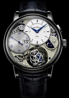 #Jaeger-LeCoultre Master Grande Tradition Gyrotourbillon 3 Jubilee priced at USD 400,000.