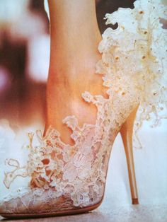 Valentino....like a shoe out of a fairy tale!