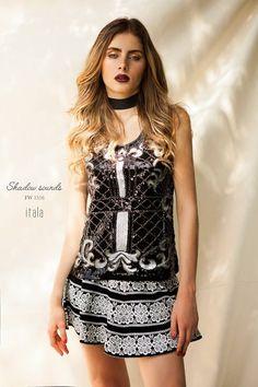 Itala Shadow Sounds - FW1516 Fotografía Andrea Swars - Modelo Laura Henao