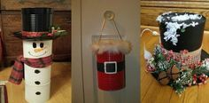 Decoraciones navideñas con latas