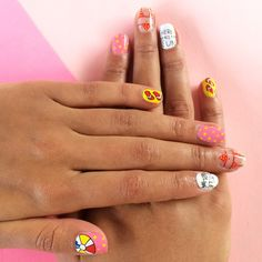 Little Darling Beach Bum. Nail wraps designed by Lynette Cenee.