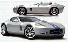The latest evidence of Ford and Carroll Shelby's desire to build cars together again is this rakish design study called the Ford Shelby, Ford Gt, Shelby Auto, Futuristic Cars, Futuristic Design, Trends Magazine, Performance Cars, Modified Cars, Vintage Racing
