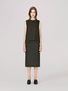COS great dress for fall.