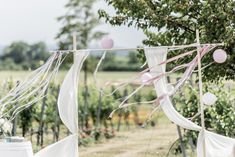wedding Austria, Kalandahaus, simple garden wedding, wedding arch photo: weddingreport.at Planer, Wedding Ceremony, Outdoor Decor, Creative, Lawn And Garden
