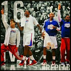 Sweet Sixteen! LA Clippers! LAC. Blake Griffin, DeAndre Jordan, Jamal Crawford, and Chris Paul, CP3! #REPLAC