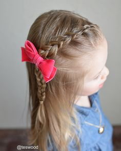 """Skip Dutch braid"" only adding hair to every other stitch!"
