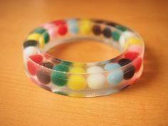 DIY resin bangle bracelet