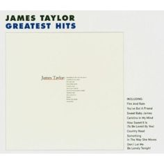 James Taylor music always was in my life, but never bought an album until later in life. And it was this one. I would have pinned another album, but I didn't own one. Love his music. And without a doubt, Carolina on my mind would be one of my top 20 songs of all-time. And, that's saying something given my diverse music interests.