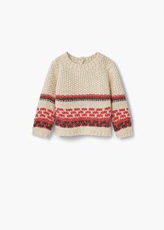 Camisola malha grossa | MANGO KIDS