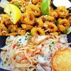 #Blu is one of the best seafood restaurants located in Ocean City. Highly recommend trying the calamari and the seafood pasta is absolutely fantastic. #OC #OceanCity #Maryland #TravelTips #ConciergeTip