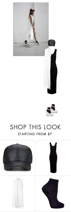 """""""Untitled #1998"""" by hologrammar ❤ liked on Polyvore featuring Sans Souci, demoo parkchoonmoo and Maria La Rosa"""