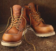 Red Wing Boots model 877 #fashion #apparel | Mens rugged fashion ...