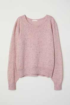 Sweater | Light pink/nepped | WOMEN | H&M US