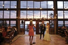 Northstar California's glamorous Zephyr Lodge #mountainwedding #lightsdownlow