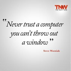Geek Humor | Would you ever throw your Macbook out the window? :)