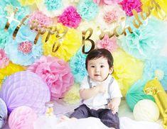 【おうちでパーティー】フワラーポムで華やかデコに挑戦してみよう!! - ライブドアニュース Tulle, Birthday, Decor, Baby, Birthdays, Decoration, Tutu, Baby Humor, Decorating