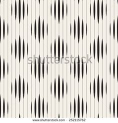 Vector seamless pattern. Modern striped texture. Repeating geometric tiles with rhombuses