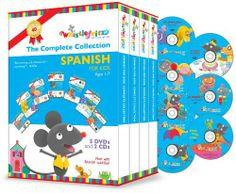 Spanish for Kids: The Complete Collection DVD ~ Sara Jerez, http://www.amazon.com/dp/B00BA2W2GW/ref=cm_sw_r_pi_dp_CMnltb0DZYN95