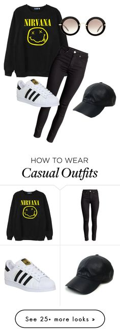 """Casual!!"" by ms-carnellbreeding on Polyvore featuring moda, Chicnova Fashion, adidas, Miu Miu, Vianel, women's clothing, women, female, woman e misses"