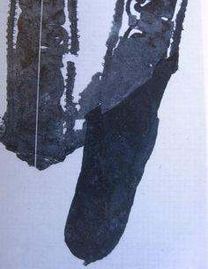 The pocket in Eleonora di Toledo's funeral dress skirt, 1562 (Palazzo Pitti, Florence)