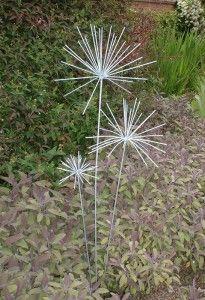 Iron Vein contemporary garden sculptures   Fresh Design Blog