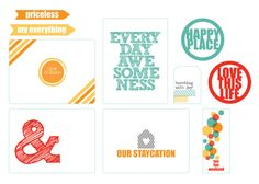 Chic Tags - Happy Place Collection - Clear Acetate Tags at Scrapbook.com
