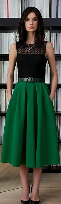 I want a pretty skirt with a dressy top.  This would be perfect if the top had sleeves.