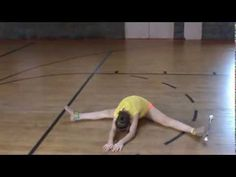 Baton twirling stretching exercises