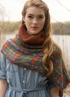 InStyle Magazine to Ravelry, Matchmaker Vol 2 – Capes and Plaid