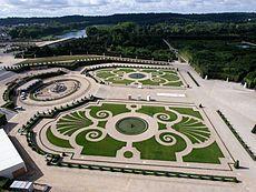 André Le Nôtre -Bassins et parterres de Latone, à Versailles.