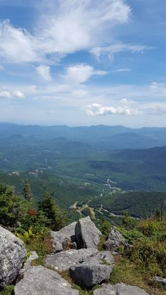 View from Whiteface ADK