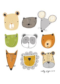 Illustration faces-sallypayne