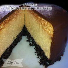 No Bake Peanut Butter Cheesecake