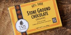 Taza 60% stone ground dark chocolate is handcrafted in small batches from single origin Dominican cacao. This 60% dark chocolate bar explodes with the essence of red berries, caramel, and mocha. A touch of added cocoa butter and a hint of biodynamic vanilla bean rounds out the flavor. Taza Chocolate produces Mexican-style, 100% stone ground, organic chocolate using only the best ingredients while directly compensating growers fairly for their work. They work primarily with the all-organic…
