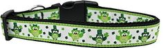 Mirage Pet Products 125-256 LG St. Patty's Day Party Owls Nylon Dog Collar, Large >>> Read more  at the image link. (This is an affiliate link and I receive a commission for the sales)