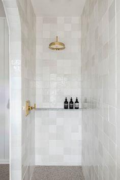 Decoration Inspiration, Bathroom Inspiration, Bathroom Ideas, Bathroom Inspo, Bath Ideas, Bathroom Designs, Master Shower, Master Bathroom, 50s Bathroom