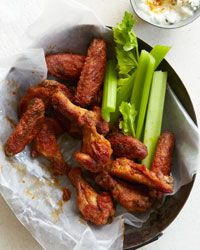Old Bay Hot Wings Recipe on Food & Wine