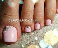 Mirror Glitter Nail Art Powder Nail Tips Beauty Nail Powder DIY. Pink Toe Nails, Pretty Toe Nails, Cute Toe Nails, Feet Nails, Fancy Nails, Trendy Nails, My Nails, Pink Toes, Chevron Nails