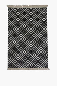 This beautiful rug can be used as a decorative addition to any room in your home. The trendy design and fringe detail only serves to add to the appeal of t Rug Size Guide, Spot Cleaner, Home Decor Shops, Rug Runner, Tassels, Rugs, Bedroom, Fabric, Prints