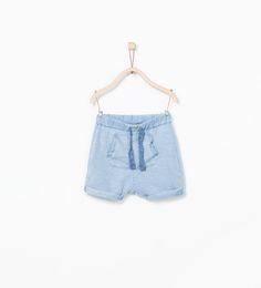 Pouch pocket bermuda shorts-Shorts-Baby boy (3 months - 3 years)-KIDS   ZARA United States