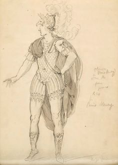 "Reinette: Costumes by Inigo Jones and Buontalenti for for ""Oberon the Faery Prince"" I can just see Lord Aubrey sitting in the royal box and watching this show. It would suit his humour. :-)"