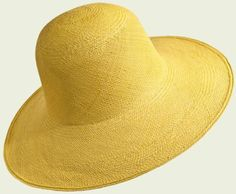 Panama Cloche   #hat #hats #womanhats #yellow #jaune #panama #cloche #clochehat #accessories #giallo #summer