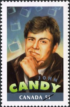 Canada Stamp - Canadians in Hollywood John Candy Canadian Memes, Canadian Things, I Am Canadian, Canadian History, Canada For Kids, Canada 150, Kino Film, Old Movie Stars, Stamp Collecting