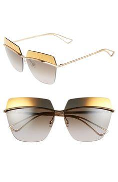 44cde93c49d Dior 63mm Retro Metal Sunglasses